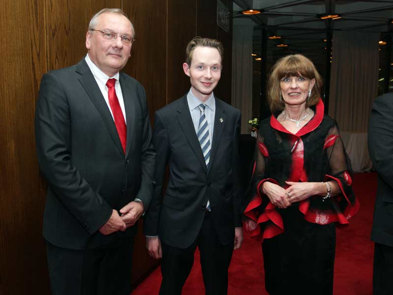 Reception with the Lithuanian Ambassador