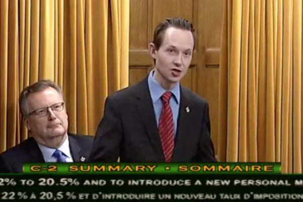 Speech on Bill C 2, An Act to amend the Income Tax Act – March 11, 2016