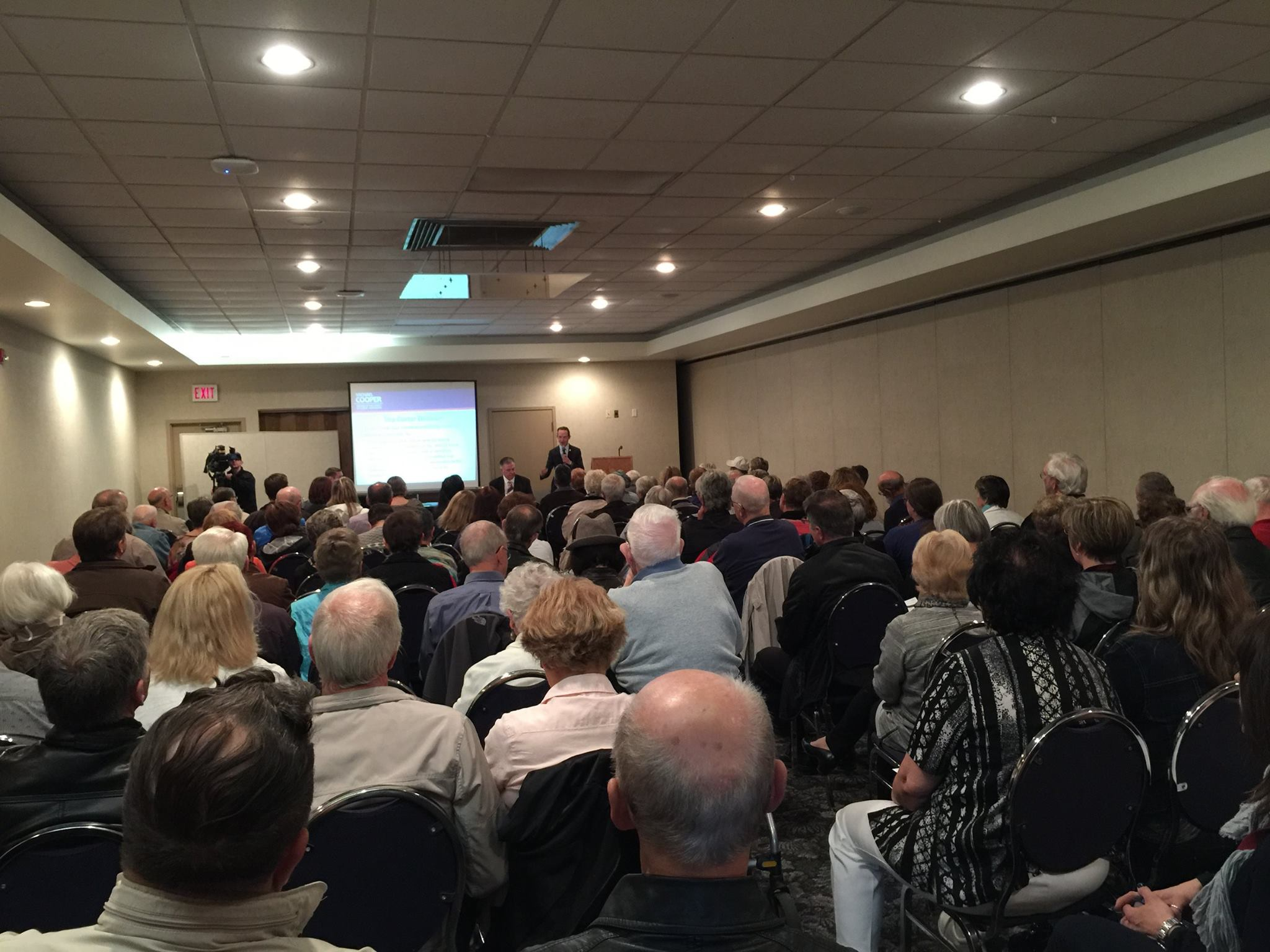 I was pleased to host a well-attended townhall on Physician-assisted-dying. A very respectful dialogue on a highly sensitive issue.