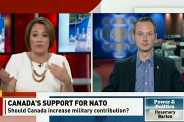 Power and Politics (CBC) / NATO – June 22, 2016