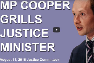 MP Cooper Questions Justice Minister on Constitutionality of Supreme Court Process
