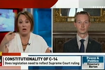 Power and Politics (CBC) – June 14, 2016 / Senate amendments
