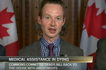Primetime Politcs (CPAC)- May 12, 2016 / Bill C-14 committee amendments
