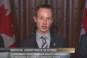 Primetime Politics (CPAC) Assisted-dying Legislation – June 16, 2016