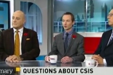 Michael Cooper on Power & Politics Discussing CSIS Concerns