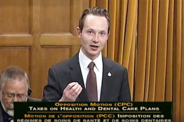 MP Cooper Calls Liberals out on Tax-Hikes