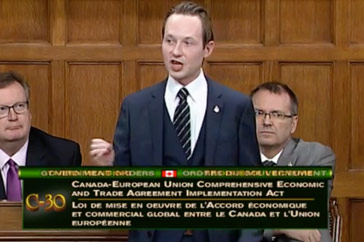 MP Cooper Supports the Canada Europe Trade Agreement