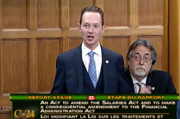 Speech Bill C-24 – December 7, 2017- An Act to amend the Salaries Act