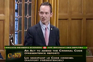 Speech Bill C-375- December 8, 2017- An Act to amend the Criminal Code (presentence report)