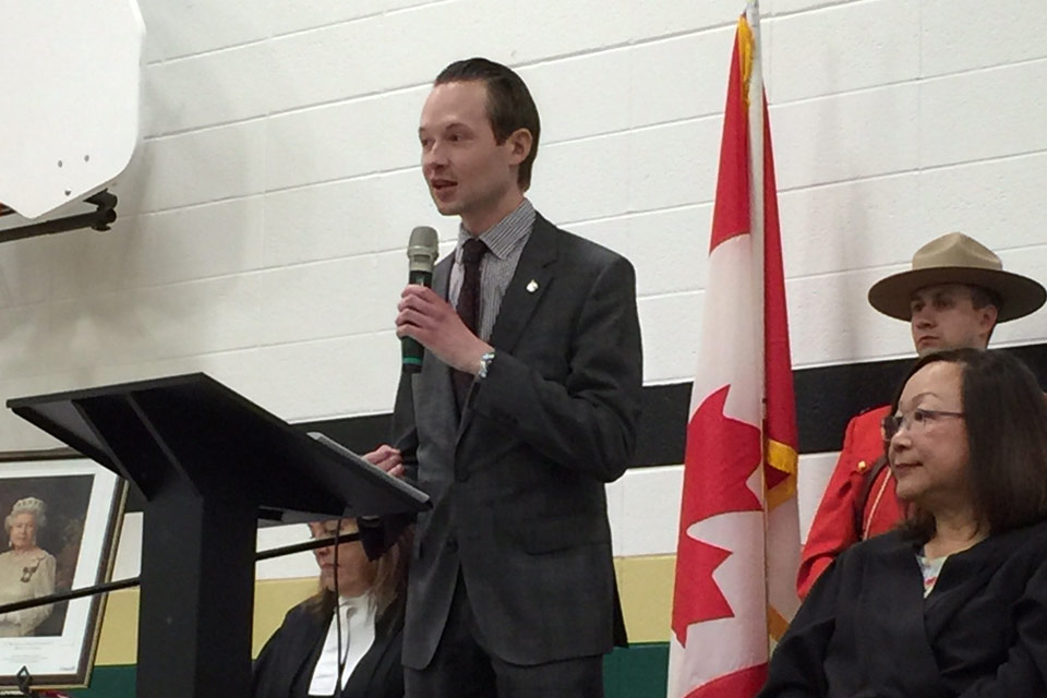 I was pleased to welcome 40 new Canadians at a Citizenship Ceremony in St. Albert