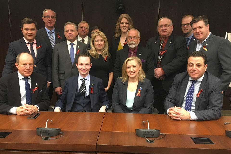 I, along with Alberta Conservative MP colleagues, joined Shelly MacInnis – Wynn before the House voted on second reading of Wynn`s Law.