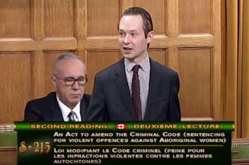 MP Cooper Speech on Bill S-215 – November 26th 2018
