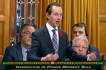 MP Cooper Introduces his Private Member's Bill – C-417