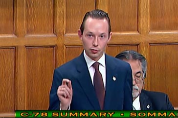 MP Cooper Speech on Bill C-78 – October 4th 2018