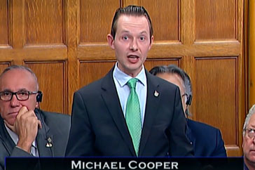 Question Period – MP Cooper – October 3rd 2018: Minister of Public Safety on Terri-Lynne McClintic.