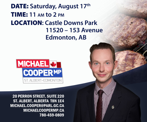 Meat and greet with MP Michael Cooper August 17, 2019